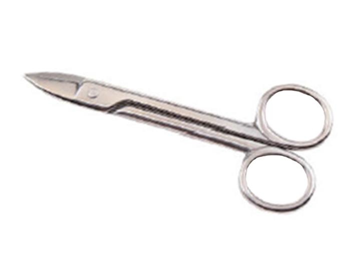 Mini stainless steel scissors for wire cutting for bonsai, 120 mm (LWS-120-1 / P)