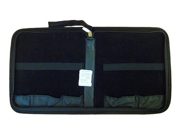 Rigid 5-place tool case with hinge for bonsai (LC-5 / P), without tools