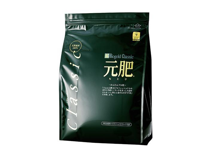 Biogold classic giapponese, NPK 2-8-4 (3,2 kg), concime granulare primaverile e autunnale per bonsai