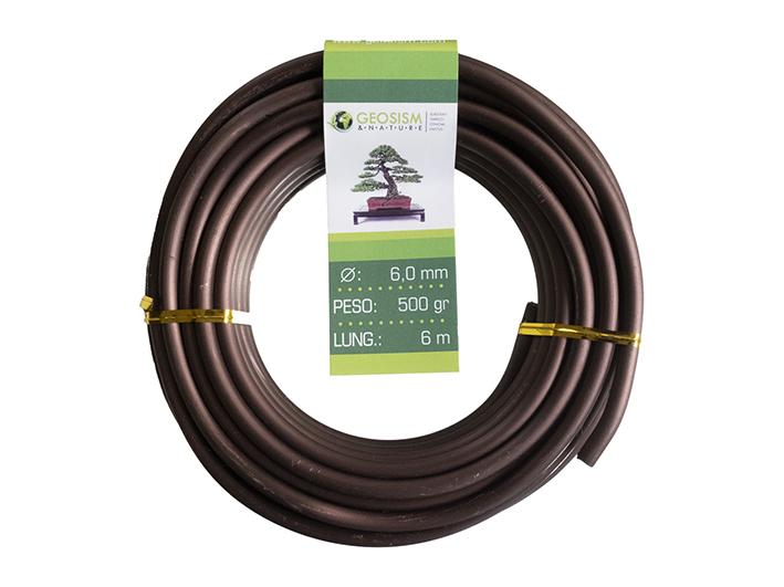 Coppered aluminum wire (aluminum-coppered) Geotools 6.0 mm for bonsai, 500 gr, 6 m