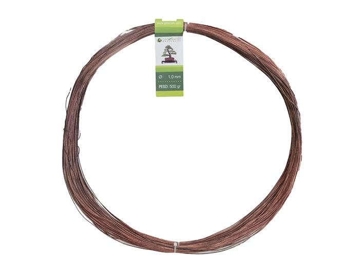 Geotools 1.0 mm annealed copper wire for bonsai, 500 gr