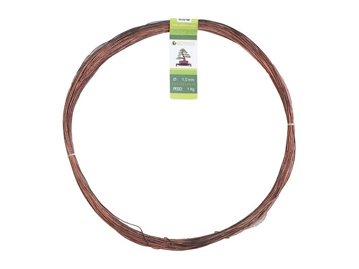 Geotools annealed copper wire 1.0 mm for bonsai, 1 Kg