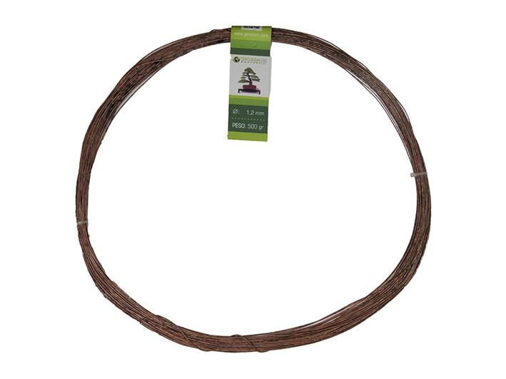 Geotools annealed copper wire 1.2 mm for bonsai, 500 gr