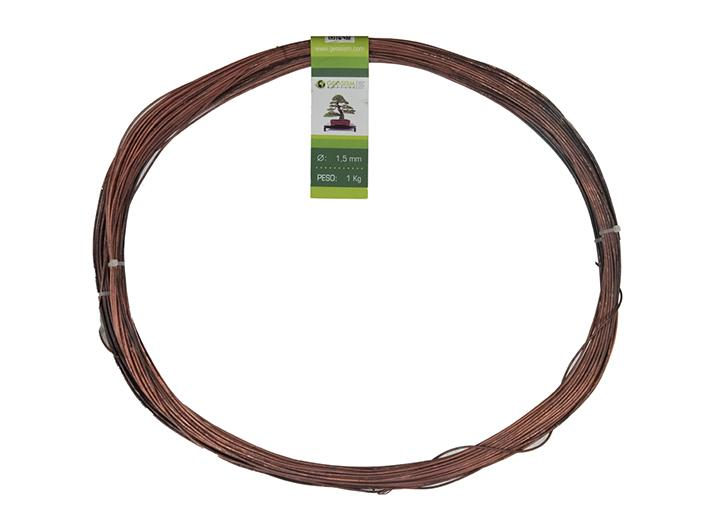 Geotools annealed copper wire 1.5 mm for bonsai, 1 Kg