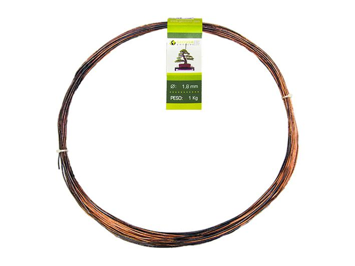Geotools 1.8 mm annealed copper wire for bonsai, 1 Kg