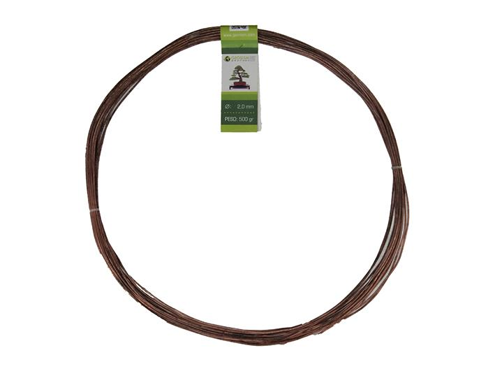 Geotools 2.0 mm annealed copper wire for bonsai, 500 gr