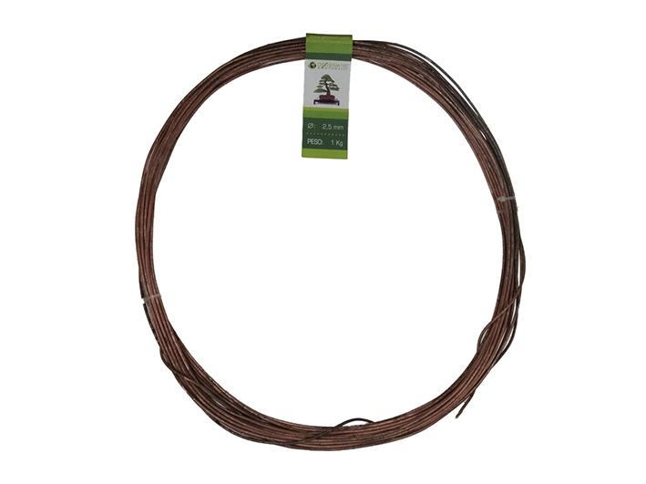 Geotools 2.5 mm annealed copper wire for bonsai, 1 Kg