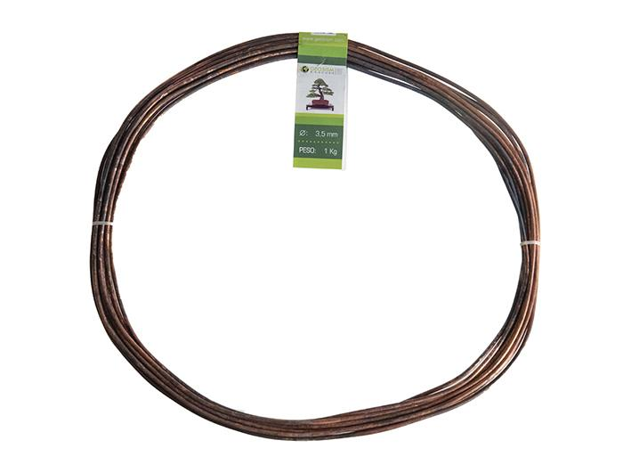 Geotools annealed copper wire 3,5 mm for bonsai, 1 Kg