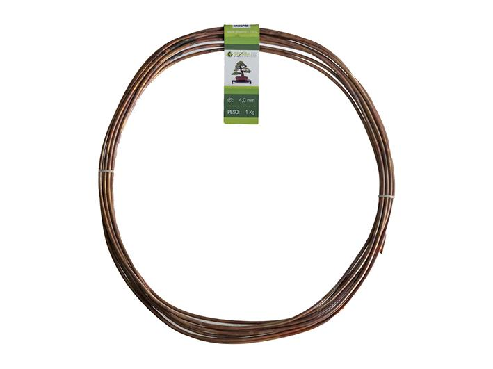 Geotools 4.0 mm annealed copper wire for bonsai, 1 Kg