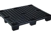 Pallet per carico leggero in plastica (PP) nera, 1200x1200xh140